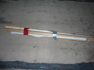 Hooking mat frame