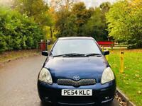 TOYOTA YARIS 2004 80K WARRANTED MILES 12 MONTH MOT IDEAL FIRST CAR CHEAP TO INSURE