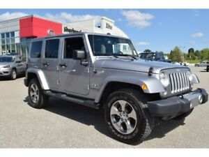 2018 Jeep WRANGLER UNLIMITED Sahara+navigation+Bluetooth+19,852k