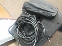XLR Multicore Stage Box Audio Snake 3 Way x 8 Socket