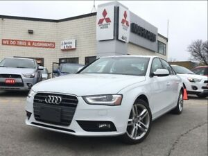 2014 Audi A4 2.0 Technik (NAVIGATION! SUNROOF!)