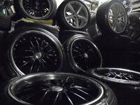 18inch deep dish rss Alloys wheels vw golf a3 bbs caddy seat leon audi a4 5x112 gti