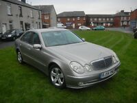 MERCEDES-BENZ E220 2.2 CDI AVANT GARDE AUTOMATIC 54 REG FULL LEATHER FULL SERVICE HISTORY
