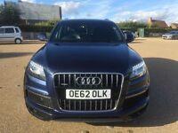 2013 AUDI Q7 4.2 TDI V8 DIESEL *Low Mile, HPI CLR, VGC, 7 Seat Powerful Auto Diesel Suv Bargain