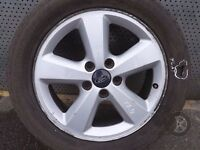 "Ford Focus CMax Mondeo Galaxy 16"" ALLOY WHEEL WITH TYRE 205/55 R16 ref. F1/2"