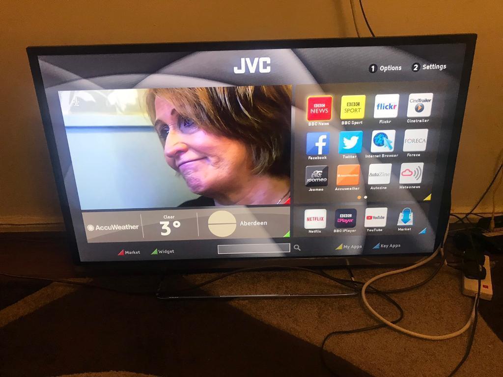 JVC LT-40C755 Smart 40