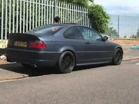 BMW E46 330ci MSPORT MANUAL , quick sale