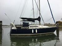 Oyster 26 - sailing yacht cruiser