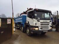 Scania Grab / Tipper Lorry