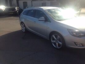 Vauxhall astra estate 1.7 cdti sri sat nav alloys