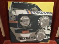 Rothmans Ford Escort Mk 2 Picture, canvas type