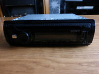 sony car radio cd player with usb port sony cdx-g1000u carbon