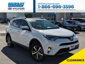 2016 Toyota RAV4 XLE with Power Seat, Power Liftgate, Sunroof, R