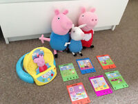Peppa Pig bundle good as new
