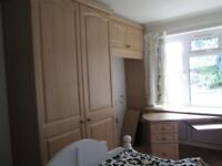 Fitted bedroom/office furniture