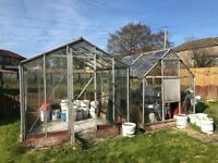 2 greenhouse for sale @ £50 each