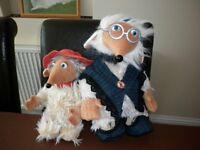 SOFT TOYS 2 WOMBLES £15 FOR THE PAIR IN SUPERB CONDITION PLYMOUTH AREA