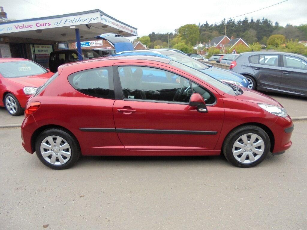 2006 56 peugeot 207 1.6 s diesel 3 door, £30 a year tax, only
