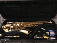 Yamaha Tenor Saxophone (YTS-275) in immaculate condition, with case and accessories.
