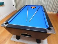 DPT Omega 7ft pool table for sale