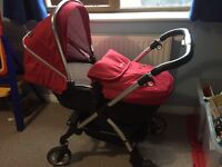 Baby silver cross wayfarer pram travel system