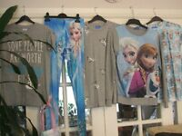 Girls clothing bundle (frozen theme), all size 6 (adults).fab condition