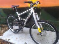 Saracens BULLET Jump Bike Down Hill Monster Mountain Bike MINT