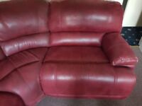 Large corner settee. Can be set up in different combinations