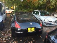 Nissan 350z. Spares or repair