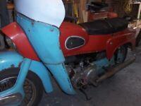 Ariel Leader motorcycle