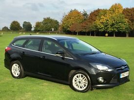 2012 / 62 FORD FOCUS 1.6 TDCi (115) TITANIUM ESTATE DIESEL * STUNNING CONDITION, SAT NAV, CAMERA FSH