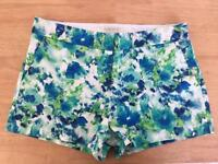 Floral shorts size 10