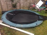 10 foot wide trampoline