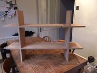 Wooden Shelving Unit for Wall