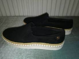 Women's black river island pumps size 5