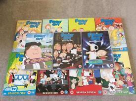 Family Guy Seasons 1 - 11 DVD