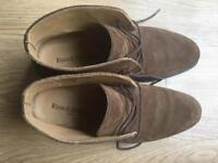 Russell & Bromley Ladies brown suede shoes size 6 for sale