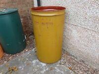 garden incinerator fire drum bin waste burner barrel