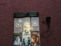 2 PSP. Good Condition. 6 Game 2 Movies
