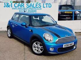 MINI HATCH ONE 1.6 ONE PIMLICO 3d 97 BHP A GREAT EXAMPLE INSIDE A (blue) 2011