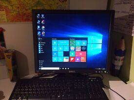 """PC Dell + 17 """"monitor"""