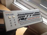 Roland TR 09 Drum Machine. About 1 year old. Totally pristine as new condition.