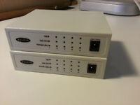 BELKIN F5D9100 6 port ethernet switch (1 item only).