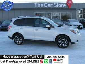 2015 Subaru Forester 2.0XT Touring - HTD SEAT, SUNROOF BLUETOOTH
