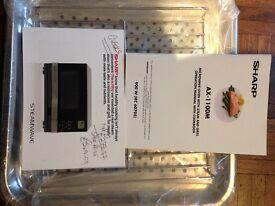 Sharp 900w Steamwave Microwave