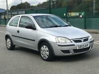 2003 VAUXHALL CORSA 1.2 * PETROL * 3 DOOR * LONG MOT * CHEAP INSURANCE * P/X * DELIVERY