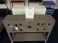 Console Table Grey Ex Display Model