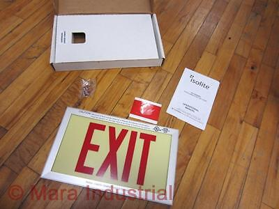 Isolite Ph-s-r-ba-un Exit Sign Phsrbaun