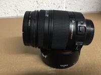 Sigma 18-250 OS HSM Lens For Nikon DSLR