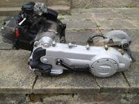 engine piaggio liberty 50cc 4 stroke